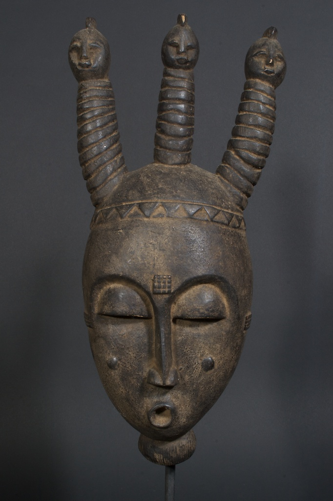 Yaure Mask The Niger Bend African Art African Masks