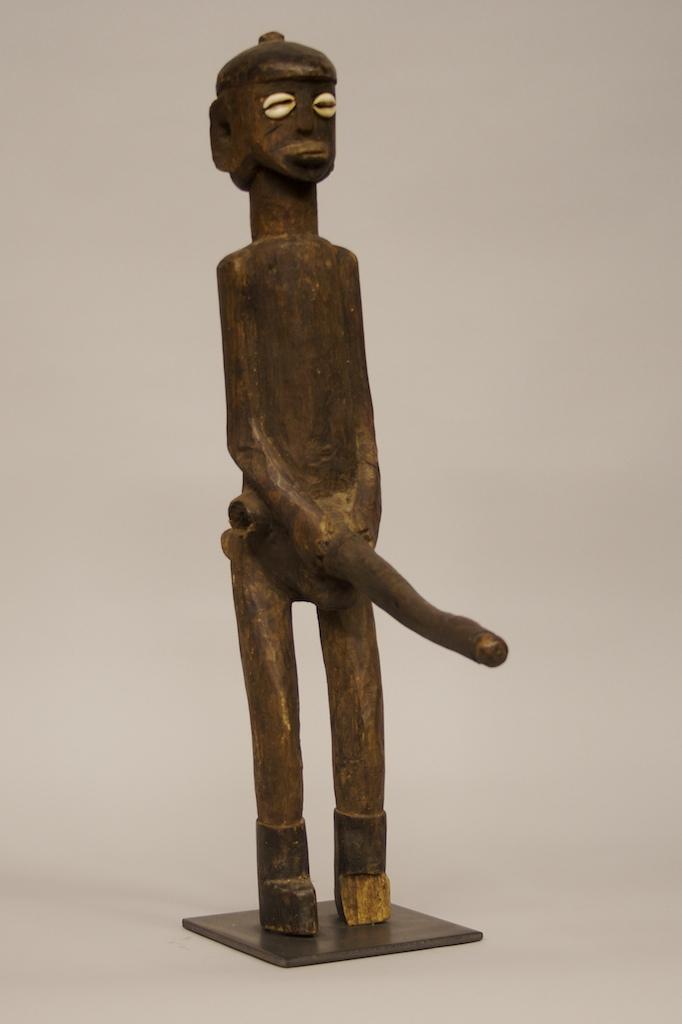 Male Figure Longest Manhood The Niger Bend African