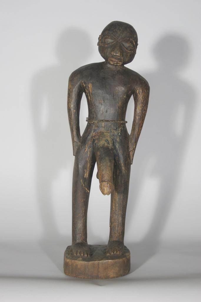 Erotic african sculpture
