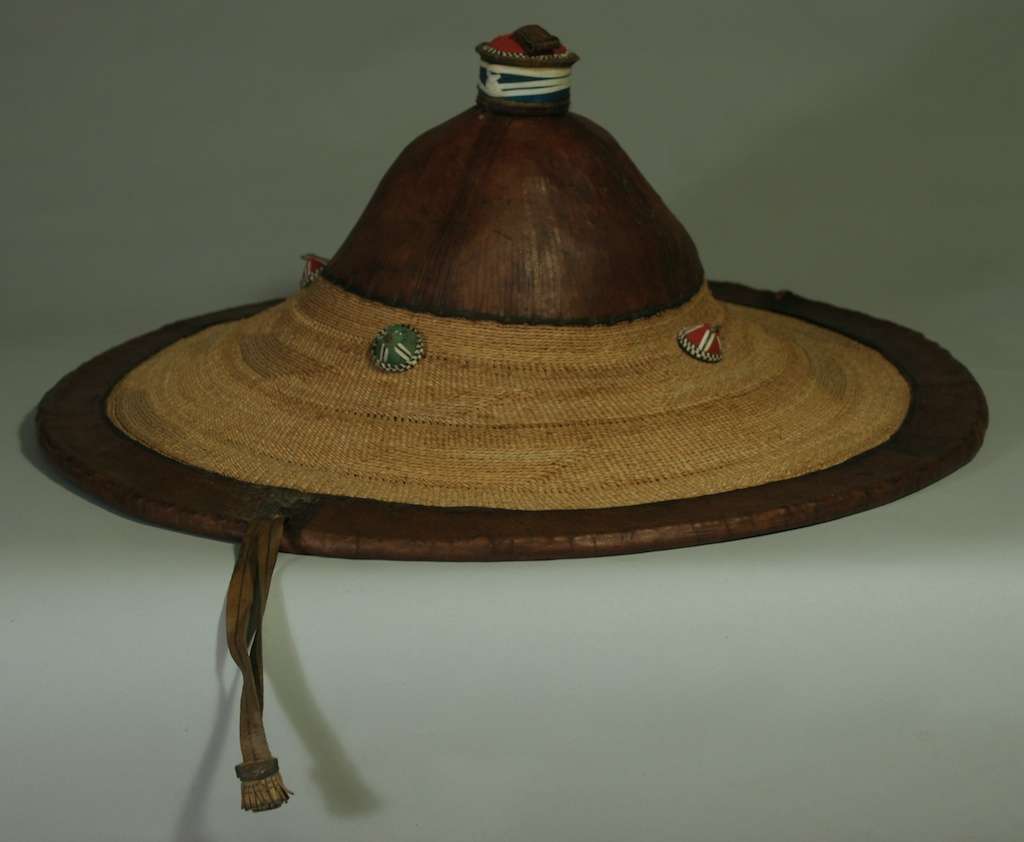 Fulani Hat Best Large Old The Niger Bend African Art