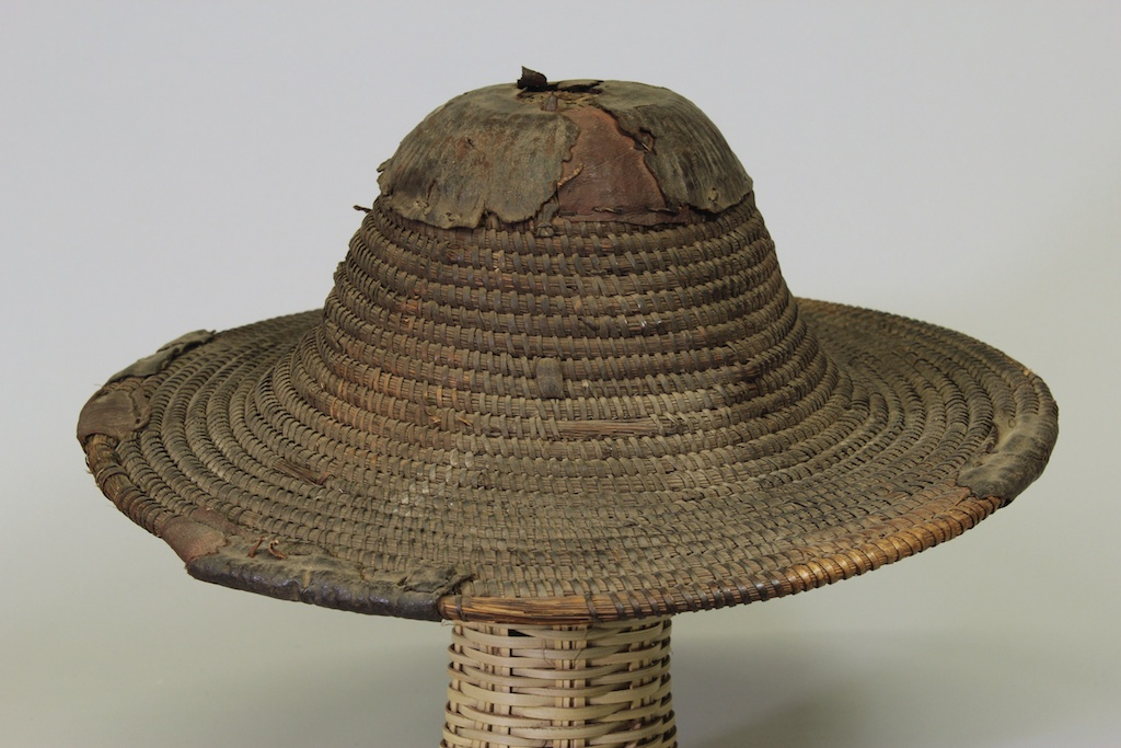Old Coiled Straw Hat The Niger Bend African Art