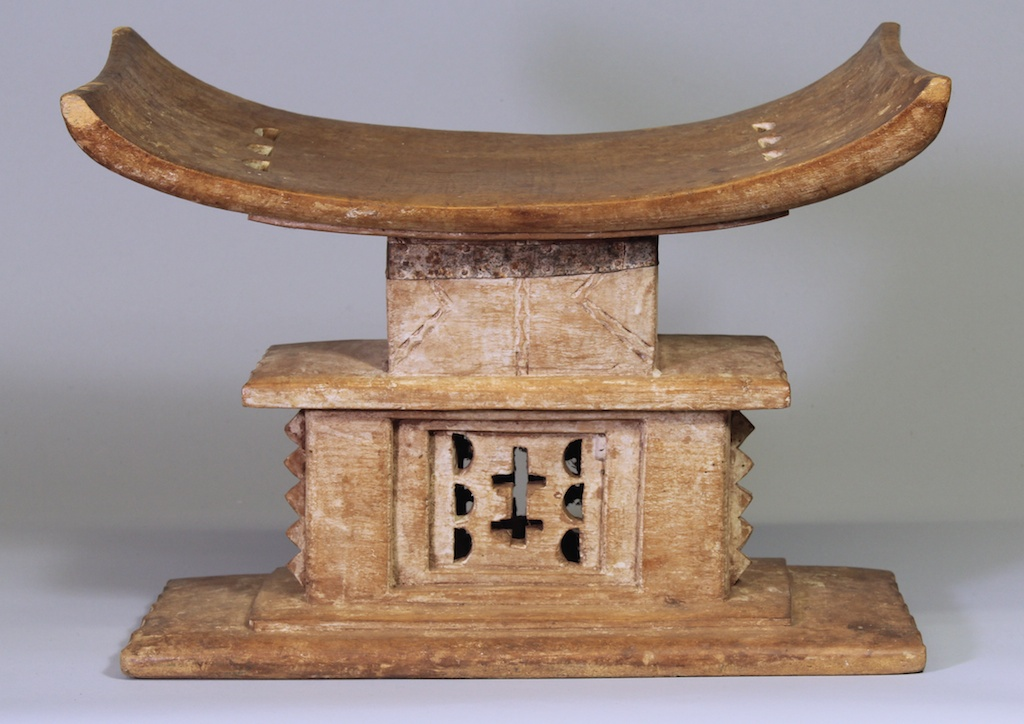 189 Old Ashanti stool