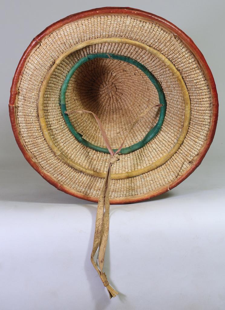 small orange mali fulani hat