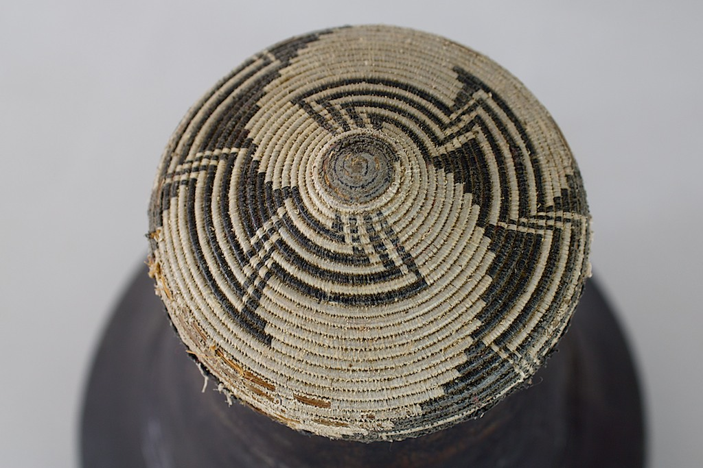 Hima Ekyanzi Old Wood Milk Vessel Uganda The Niger Bend